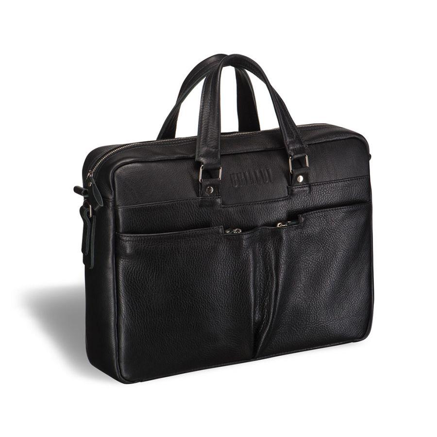 Вместительная деловая сумка BRIALDI Lakewood (Лэйквуд) black