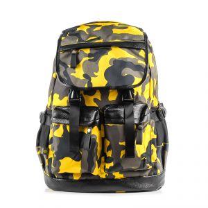 Рюкзак молодежный 1130115330_30; полиэстер; желтый