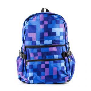 Рюкзак молодежный 1130115332_51; полиэстер; синий
