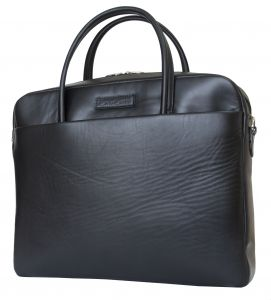 Кожаная мужская сумка Carlo Gattini Como black