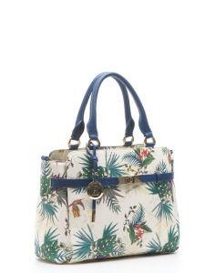 Весенняя сумка с цветочным принтом