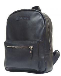 Женский кожаный рюкзак Anzolla blue